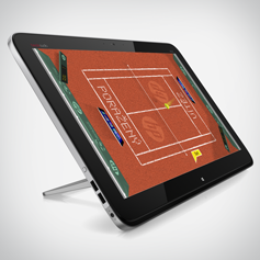 HP: Tablet Tennis